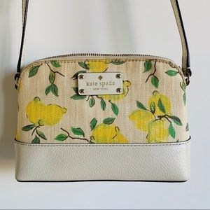 Kate Spade Hanna Wellesley Crossbody lemon purse